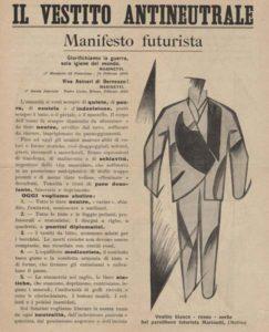 Il vestito antineutrale