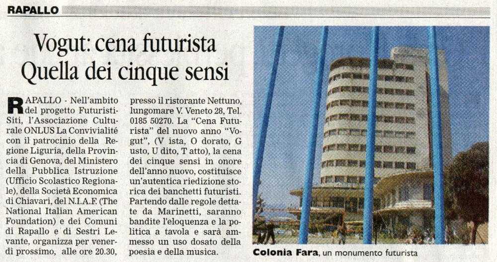 Il Corriere Mercantile del 15-01-08
