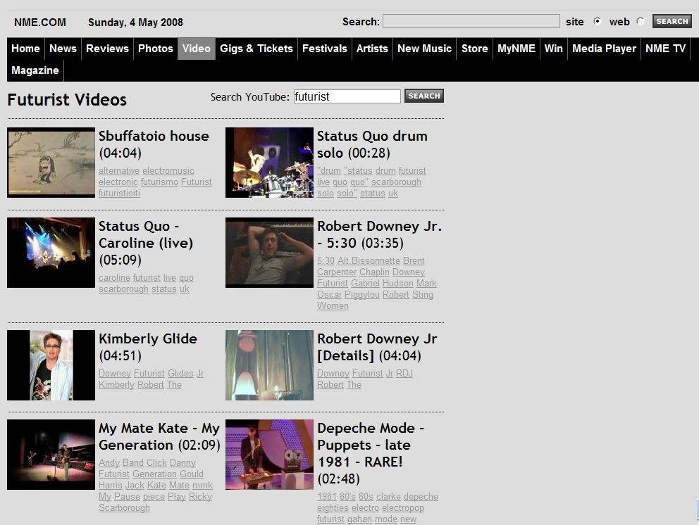 NME.COM del 04-05-08