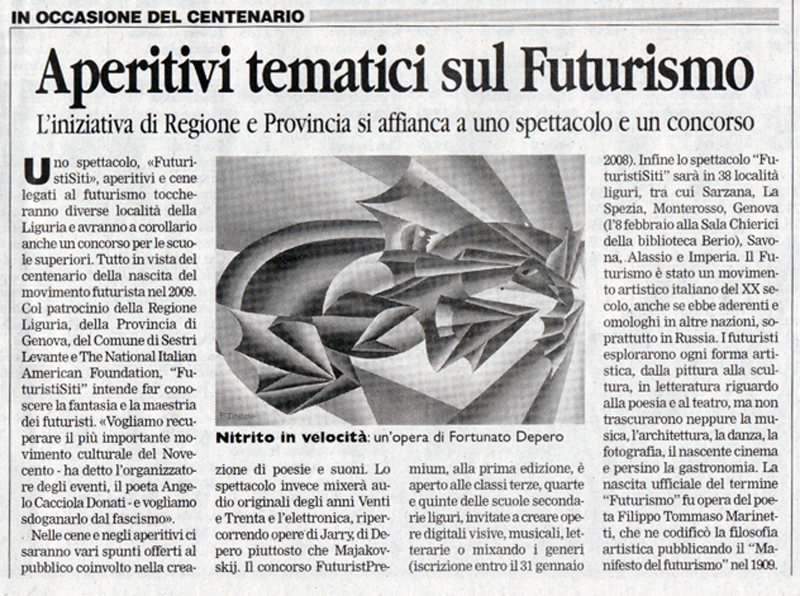 Il Corriere Mercantile del 09-11-07