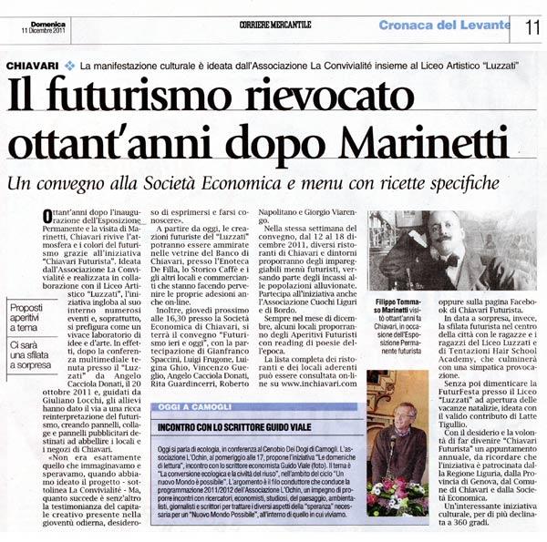 Il Corriere Mercantile del 11 Diciembre 2011