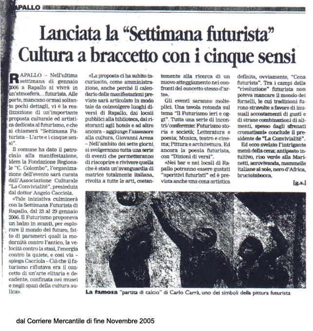 Il Corriere Mercantile del Novembre 2005
