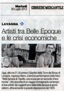 Il Corriere Mercantile del 30 Julio 2013