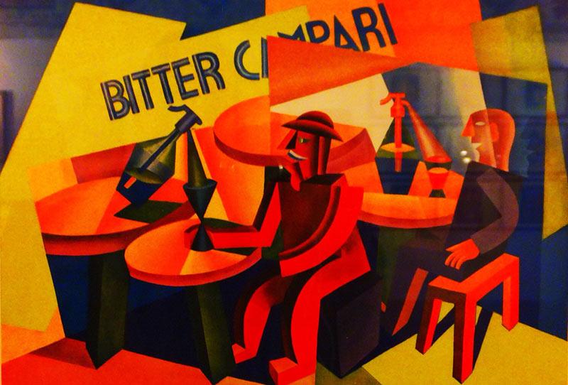 Il futurismo e l'arte pubblicitaria